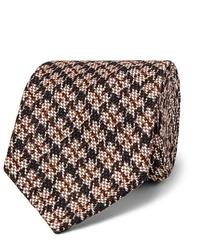 Cravatta di lana beige di Rubinacci