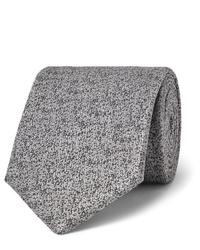 Cravatta di lana grigia di Charvet