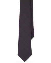 Cravatta di lana grigio scuro