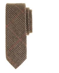 Cravatta di lana marrone