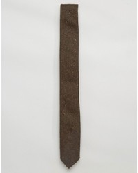 Cravatta di lana marrone di Asos