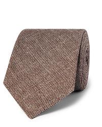 Cravatta di lana marrone di Kingsman