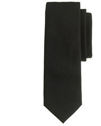 Cravatta di lana nera