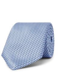 Cravatta di seta azzurra di Hugo Boss