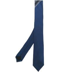 Cravatta di seta blu di Givenchy