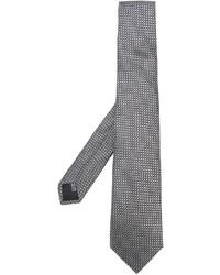 Cravatta di seta grigia di Cerruti