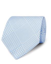 Cravatta scozzese azzurra di Emma Willis