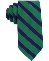 Cravatta scozzese blu scuro e verde