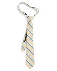 Cravatta scozzese marrone chiaro