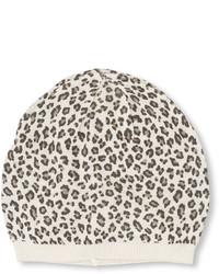 Cuffia leopardato bianco