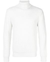 Dolcevita di lana bianco di Eleventy