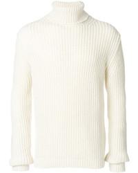 Dolcevita di lana bianco di MSGM