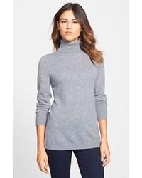 Dolcevita di lana grigio