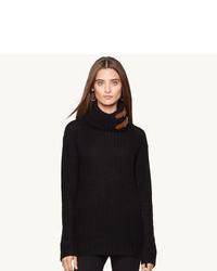 Dolcevita di lana nero