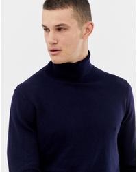 Dolcevita lavorato a maglia blu scuro di Jack & Jones