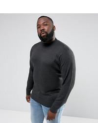 Dolcevita lavorato a maglia grigio scuro di French Connection