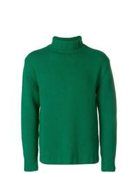 Dolcevita lavorato a maglia verde di Closed
