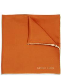 Fazzoletto da taschino arancione