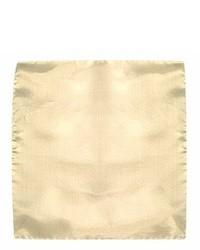 Fazzoletto da taschino beige