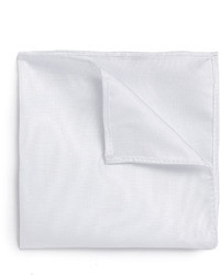 Fazzoletto da taschino bianco