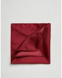 Fazzoletto da taschino di seta bordeaux di Asos