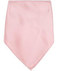 Fazzoletto da taschino di seta rosa di Lanvin