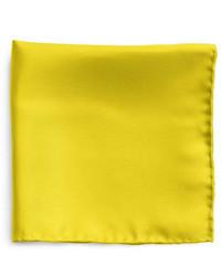Fazzoletto da taschino giallo