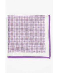 Fazzoletto da taschino viola chiaro