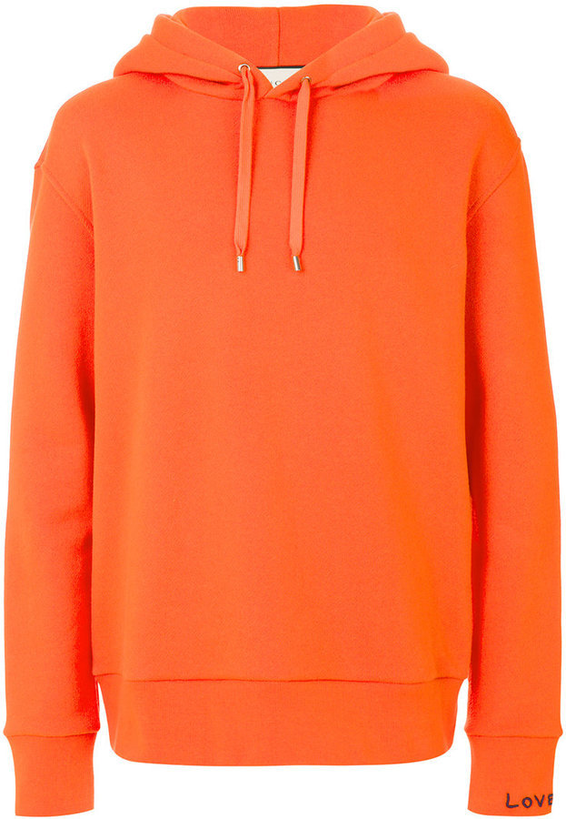 ... Felpa con cappuccio arancione di Gucci ... ab8ee9ad74a9