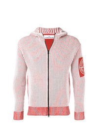 99482c8bec Felpe con cappuccio bianche e rosse da uomo | Moda uomo | Lookastic
