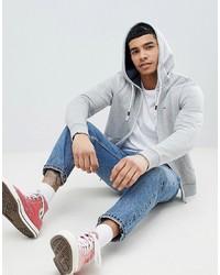 Felpa con cappuccio grigia di Tommy Jeans