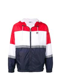 brand new 263b1 3bc6a Giacche a vento bianche e rosse e blu scuro da uomo | Moda ...