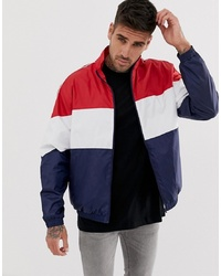 brand new f1aad b2dfd Giacche a vento bianche e rosse e blu scuro da uomo | Moda ...