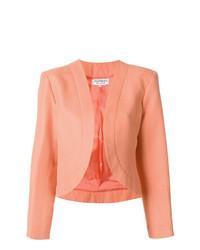 Giacca aperta arancione di Yves Saint Laurent Vintage