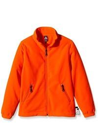 Giacca arancione di Trigema