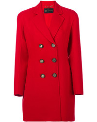 Giacca da marinaio rossa di Versace