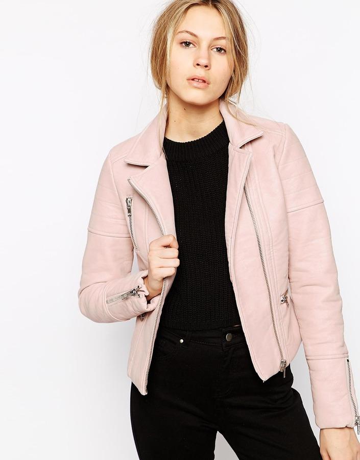 moto Dove pelle come acquistare indossare rosa amp; da in Giacca CxZ4wq5O5