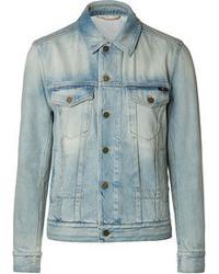 Giacca di jeans azzurra