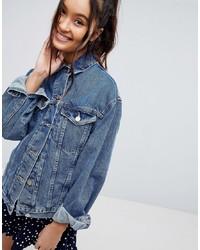 Giacca di jeans azzurra di ASOS DESIGN