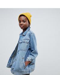 Giacca di jeans azzurra di Asos Petite