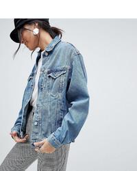 Giacca di jeans azzurra di Asos Tall