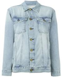 Giacca di jeans azzurra di Current/Elliott