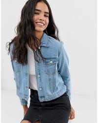 Giacca di jeans azzurra di Miss Selfridge
