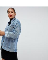 Giacca di jeans azzurra di Missguided Tall