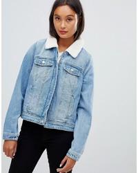 Giacca di jeans azzurra di Pimkie