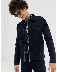 Giacca di jeans blu scuro di ASOS DESIGN