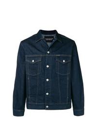 Giacca di jeans blu scuro di Calvin Klein Jeans
