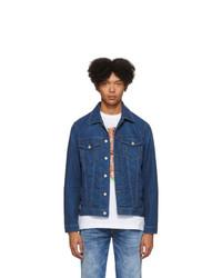 Giacca di jeans blu scuro di Diesel