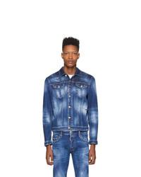 Giacca di jeans blu scuro di DSQUARED2