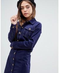Giacca di jeans blu scuro di Glamorous